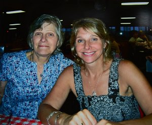 Sherri with her Mom