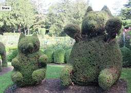 GREEN ANIMALS TOPIARY GARDENS IN PORTSMOUTH